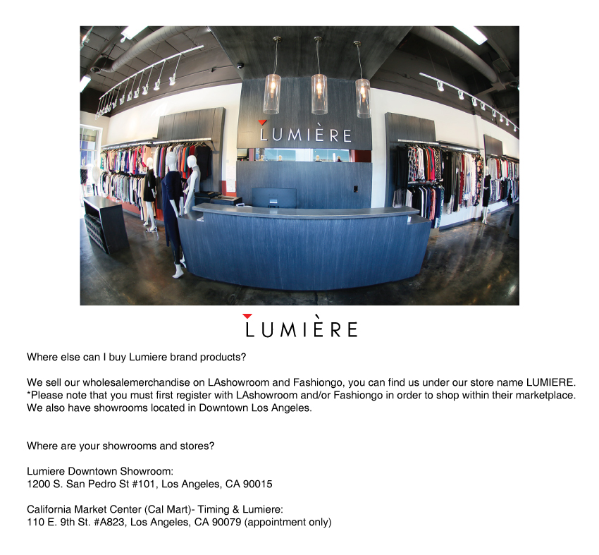 Lumiere-showroom